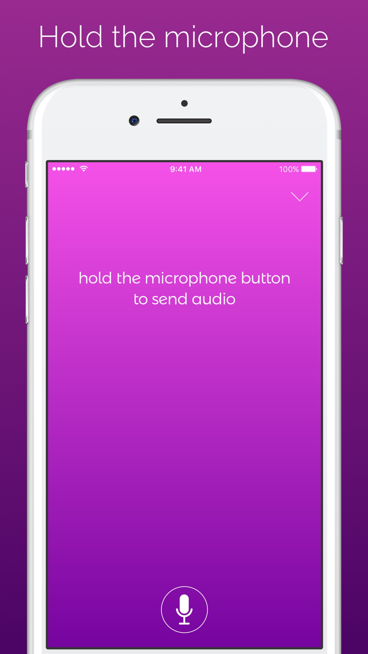 Screenshot do app Astra - for Alexa Voice Services