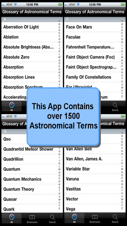 Glossary of Astronomical Terms screenshot-3