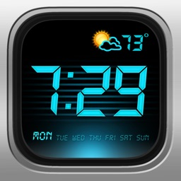 Alarm Clock - Digital, Music Alarms & Flashlight