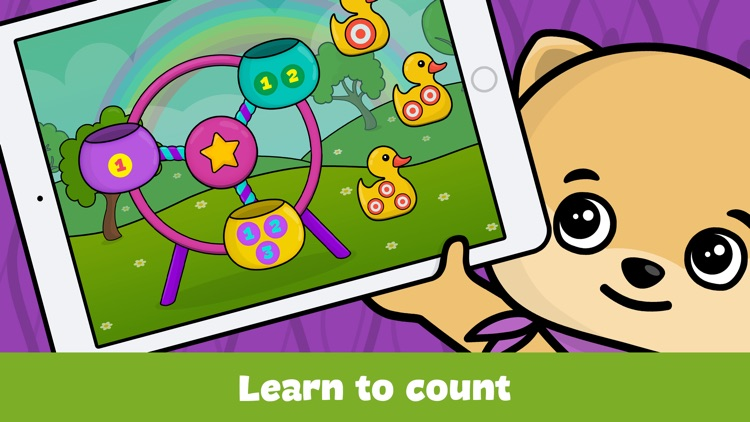Shapes & colors toddlers games - kids puzzles free screenshot-0