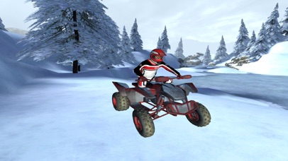 ATV Quad Bike Snow Parking Simulator 2017 screenshot 3