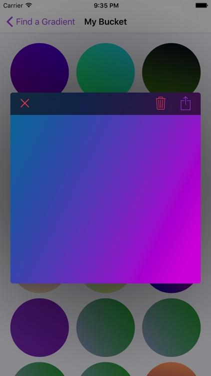gradients screenshot-3