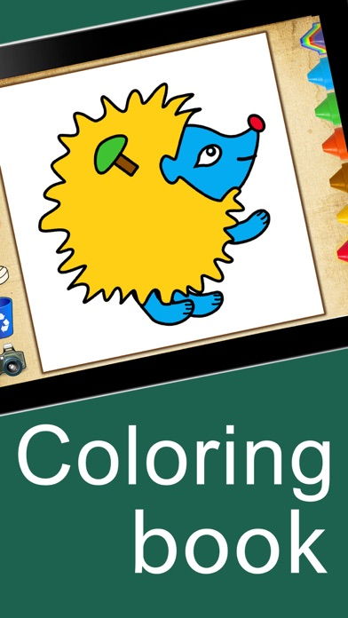 Coloring book : kids games for boys & girls apps screenshot one