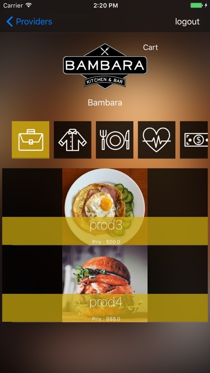 Be My Menu App
