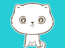 Animated Cartoon-Cat Stickers For iMessage