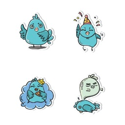 Little Bird! Stickers