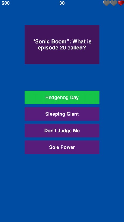 Trivia For Sonic The Hedgehog Free Fun Quiz By Bogdan Stanescu