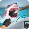 サメの狙撃兵-スピアフィッシング ゲーム素晴らしい白い顎