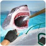 鲨鱼狙击手 - 大白鲨钓鱼游戏