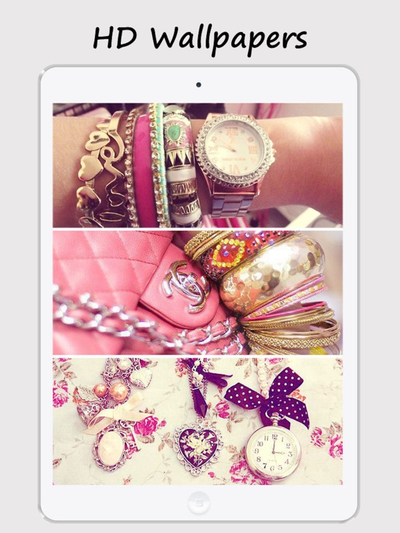 Girly Walls Cute Girl Image For Home Lock Screen App Price Drops