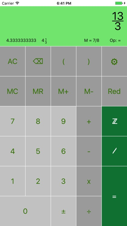 FraCa (fraction calculator)