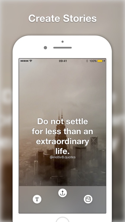 Motiv8 Insta Quote Creator Add Text on Your Images screenshot-3