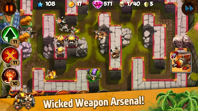 Goblin Defenders: Steel'n'Wood screenshot-2