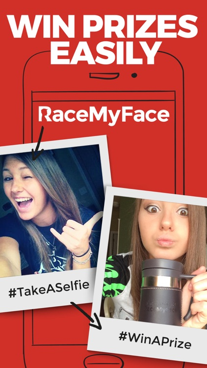 RaceMyFace - Selfie Contest screenshot-0