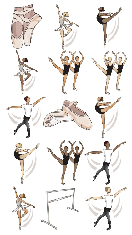 Ballet and Dance Stickers