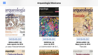 Arqueología Mexicana Screenshot