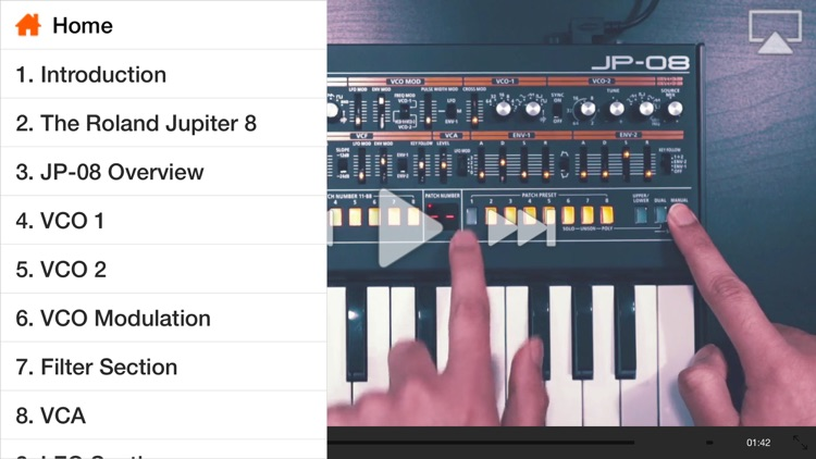 Tour of the Roland Boutique JP-08 by ASK Video