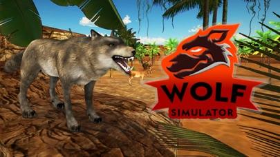 Wolf Simulator - Ultimate Animal Survival screenshot one