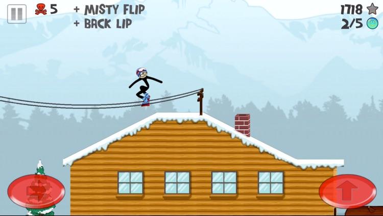 Stickman Snowboarder™ screenshot-3