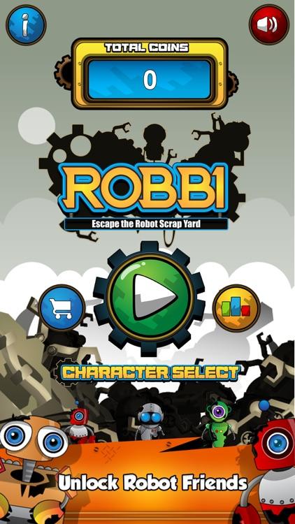 Robbi - Escape The Robot Scrap Yard screenshot-4