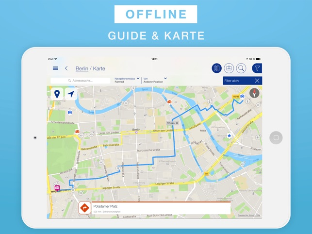 Karte Rhodos Urlaub.Rhodos Reiseführer Offline Karte Im App Store