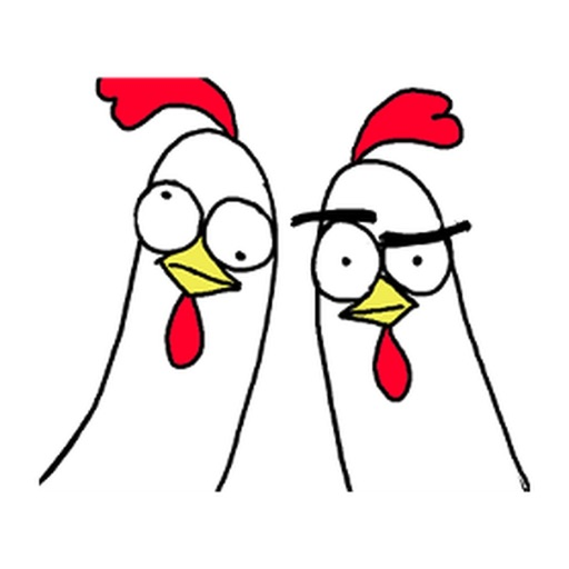 Animated Chicken Bro Stickers