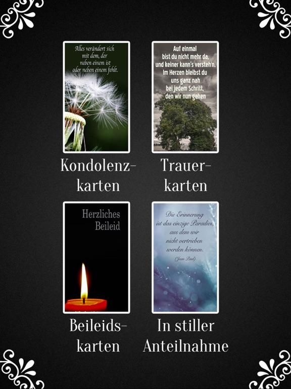 Trauerkarten Beileidskarten Kondolenzkarten TRAUER screenshot 9