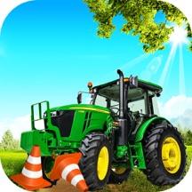 真实 农场 停車處 模拟器 - 拖拉机 驾驶 3d