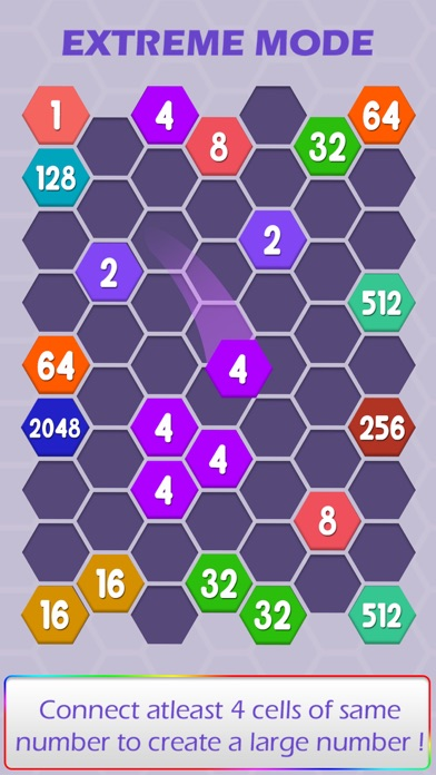 Connect Hexa Puzzle - Matching Numbers screenshot four