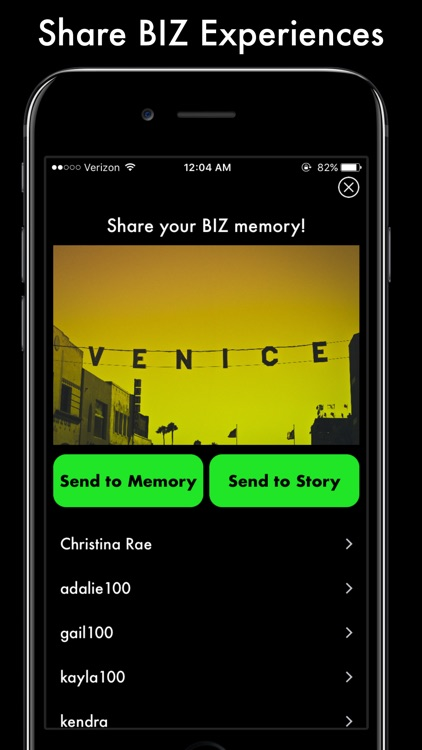 BIZtalk - Talk Business with Friends from SnapChat