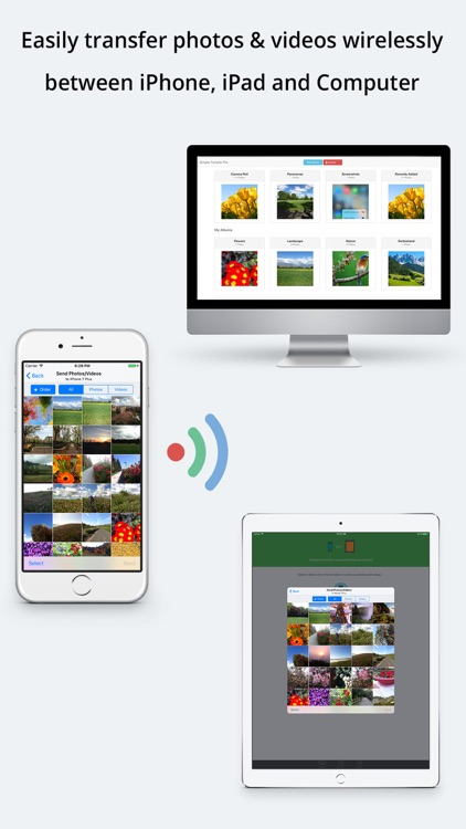 Simple Transfer - Backup, sync, share photo video