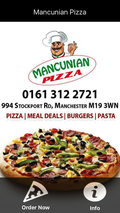 Mancunian Pizza Manchester App Apps Store