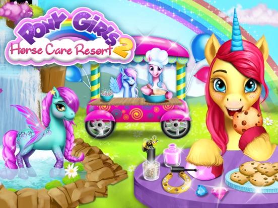 Pony Girls Horse Care Resort 2 - Style & Dress Up screenshot 6