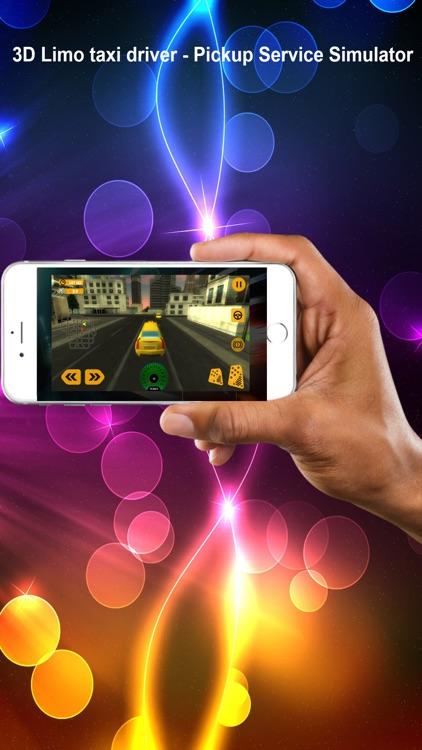 3D Limo taxi driver - Pickup Service Simulator