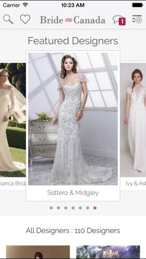 Bridenada wedding dress finder on the app store screenshots junglespirit Gallery