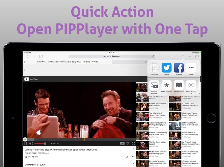 PIP Player: Picture in Picture for Youtube