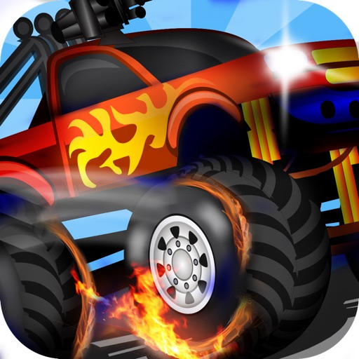 Cop Monster Trucks Vs Zombies Desert Police Free Shooting Racing Game By Go Free Games Best Top Fun Apps