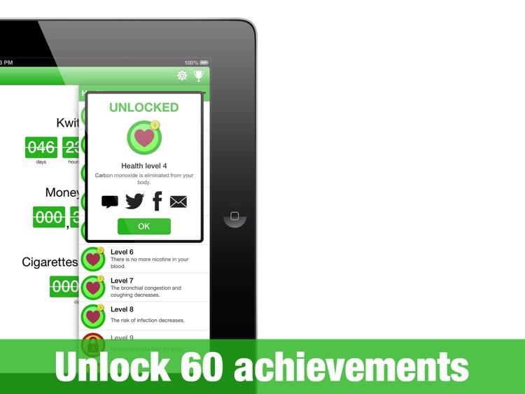 KwitHD - quit smoking is a game screenshot-3