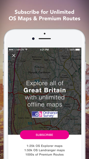 Outdoors GPS – Offline OS Maps on the App Store