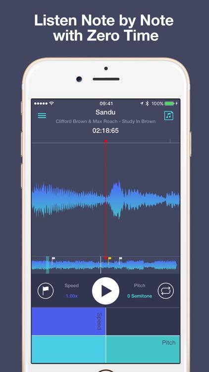 Transcribe+ Elegant Slow Downer and Time Strecher screenshot-3