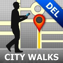 Delhi Map and Walks, Full Version