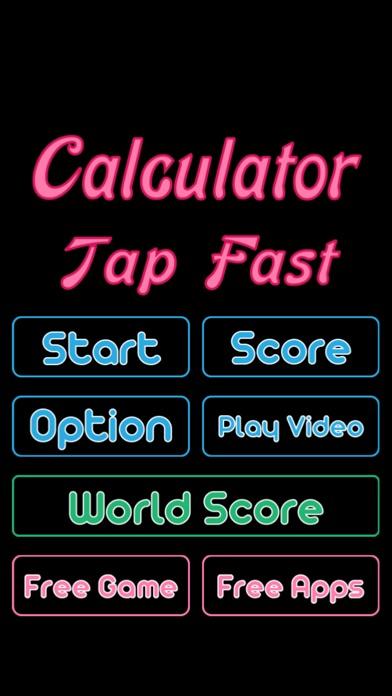 Calculator Tap Fast Game Скриншоты5