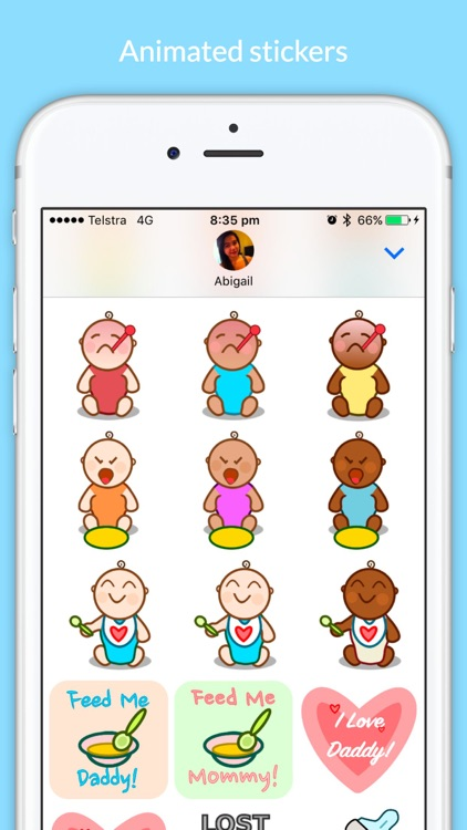 Baby Stickers - Cuteness Overload screenshot-1