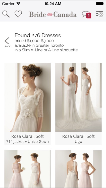Bride.Canada Wedding Dress Finder by Bridal Network Inc