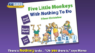 Five Little Monkeys With Nothing To Do review screenshots