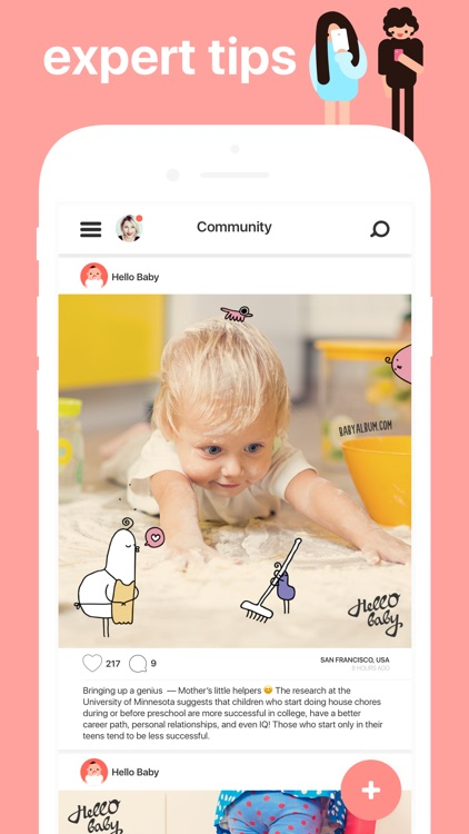 Hello Baby: Parenting App screenshot-1