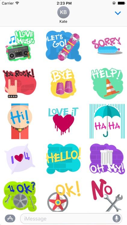 Street Music Stickers