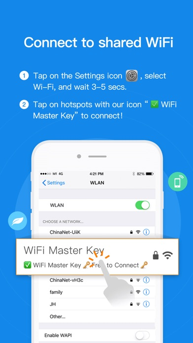 Screenshot for WiFi Master Key Pro - WiFi.com in Turkey App Store