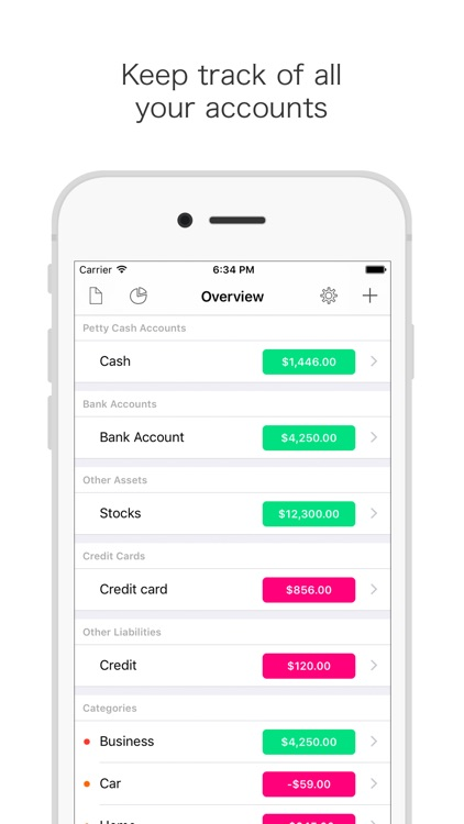 Cashbook: Expense tracker