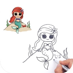 Learn How to Draw Cute Princess Characters Pro